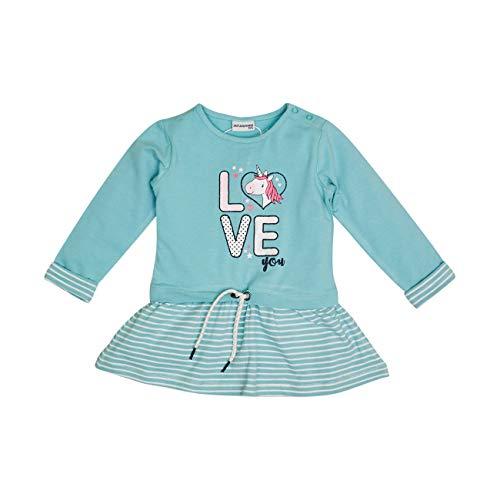 Salt & Pepper Baby-Mädchen 05213214 Kinderkleid, Dusty Mint, 80