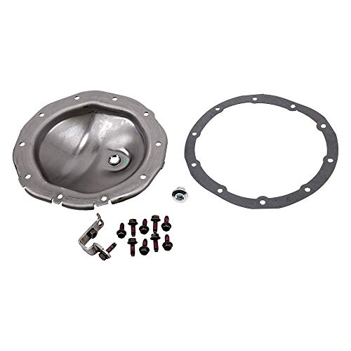 Genuine GM Parts 19333218 Rear Axle Housing Cover Kit with Plug, Brackets, Gasket, and Bolt