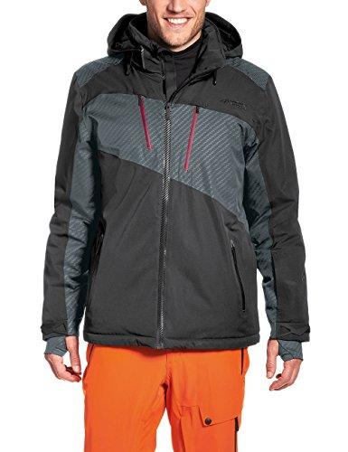 Maier Sports Herren Skijacke Banff, Black, 58