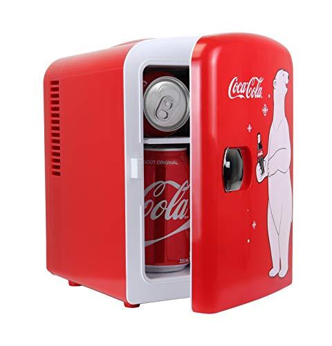 Coca Cola KWC4 Frigorifero Elettrico Unisex Adulto Rosso