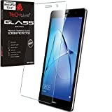 TECHGEAR Vidrio Compatible con Huawei MediaPad T3 8 (8' Pantalla) - Auténtica Protector de Pantalla Vidro Templado [Dureza 9H] [Resistente a los arañazos] [Sin Burbuja] [Borde 2.5D]
