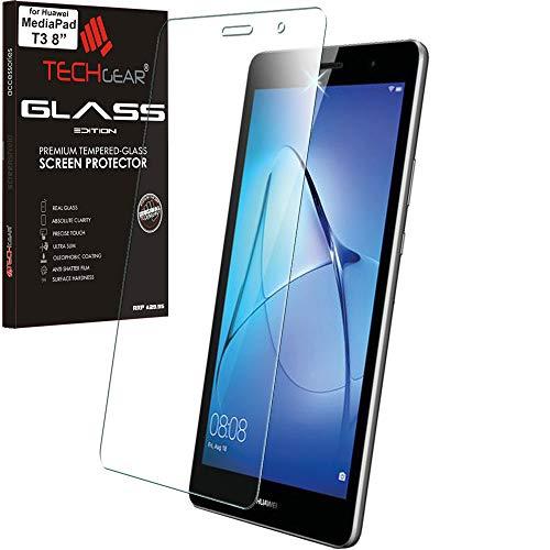 TECHGEAR Vidrio Compatible con Huawei MediaPad T3 8 (8