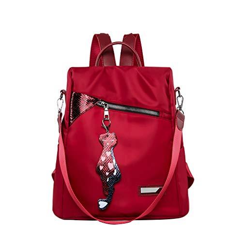 zaino donna antifurto elegante Zaino per Zaino da studente impermeabile alla moda di grande capienza per donne