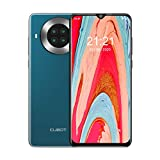 CUBOT Teléfono Inteligente, 8+128GB, 6.5' Pantalla HD Water-Drop, Dual SIM, Android 10, Octa-Core,Dual Sim. Verde