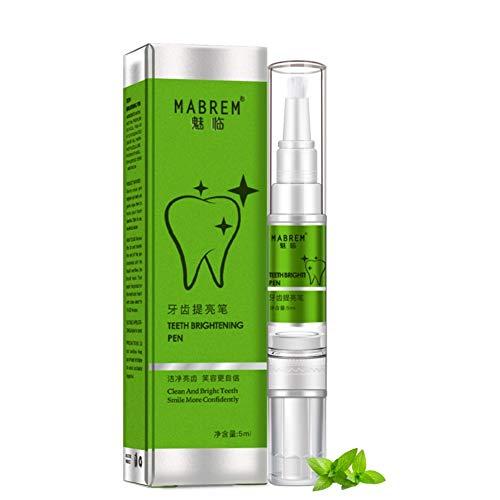Allbestaye Magic Teeth Whitening Pen Zahnaufhellung für Unterwegs Weiße Zähne Stift Zahnfreundliches Zahnweiß Gel Zahnaufhellungsstift