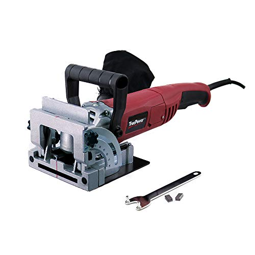 Toolman 4 '' Wood Biscuit Cutter Plate Joiner with Carbide Tipped Blade DB01-0102