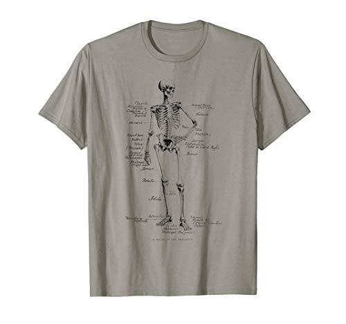 Huesos del esqueleto anatómico del esqueleto humano Camiseta