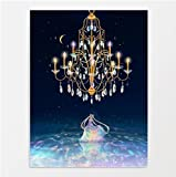 Motty Cuadro sobre Lienzo – Impresión En Lienzo Arte Sailor Moon Para Sala de Estar Decoración de Dormitorio 40x60cm