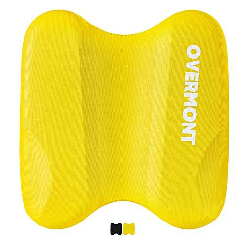Overmont Schwimmen Kickboard Schwimmbrett Pull Buoy Pull Kick Eva zum Schwimmenlernen Trainieren Spielen für Kinder und Erwachsene Blau/Schwarz