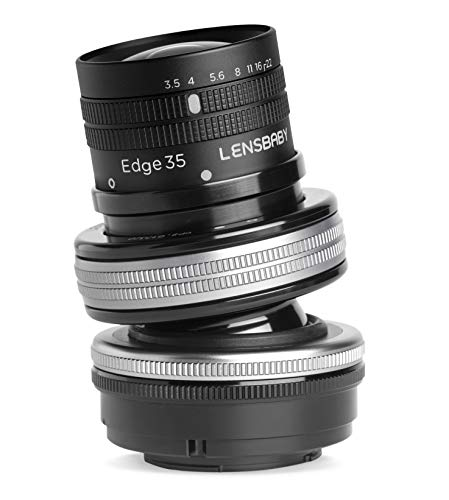 Lensbaby ティルトレンズ Composer Pro II with Edge 35 フジフイルムX用 35mm F3.5 レンズベビー光学系交換システム対応
