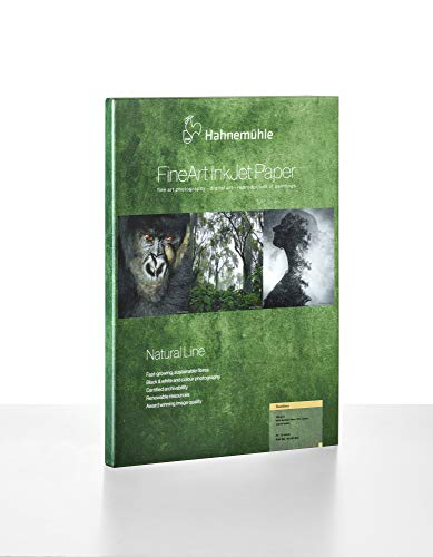 Hahnemühle 10641611 Digital FineArt Bamboo, 290 g/m², DIN A4, 210 x 297 mm, naturweiß