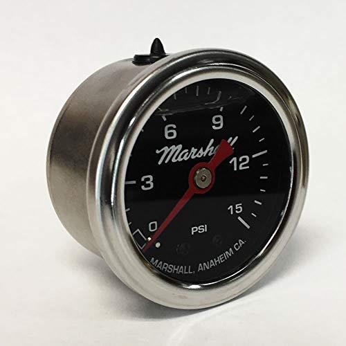 Marshall Instruments LB00015 Liquid Filled Fuel Pressure Gauge