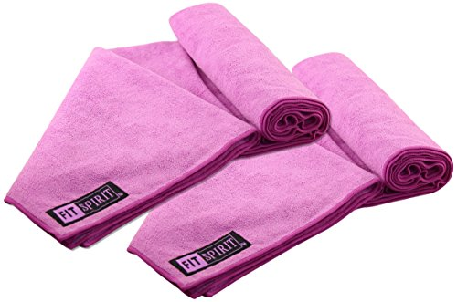 FIT SPIRIT Microfiber 2-Pack Sports Towels