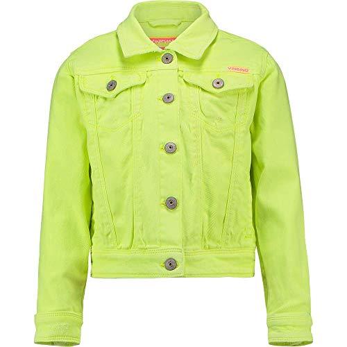 Vingino Mädchen Girl Jeansjacke Jacke TOSCANE neon Yellow (128)