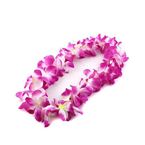 PIXNOR Hawaiikette Blumenkette Girlande 100 cm