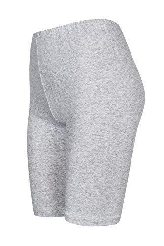 DeDavide Shorts Cyclisme, Gris Clair, XXL