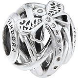 Pandora Bead Charm Donna argento - 797025CZ, 1 pezzo