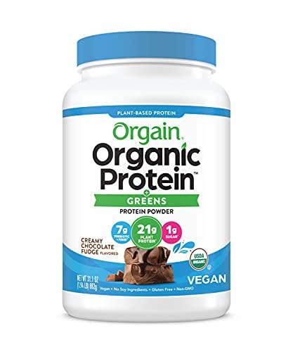 Orgain Organic & Greens Plant Based Protein Powder Now $15.38 (Retail $26.12)