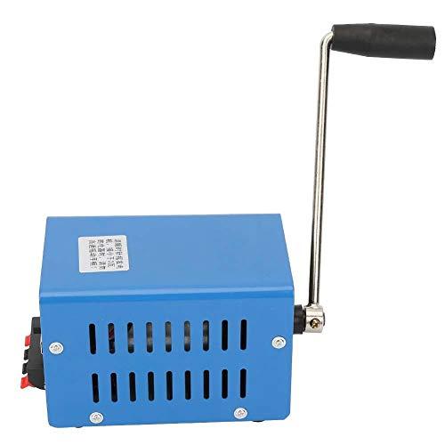 Generador con manivela, Akozon cargador de puerto USB con manivela Manual de emergencia de viaje Dinamómetro