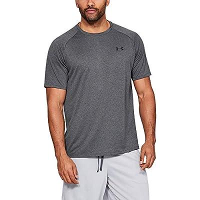 Under Armour Men's Tech 2.0 Short-Sleeve T-Shirt , Carbon Heather (090)/Black, X-Large