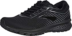 top rated Brooks Men's Ghost 12, Black / Gray, 9.5D. 2021