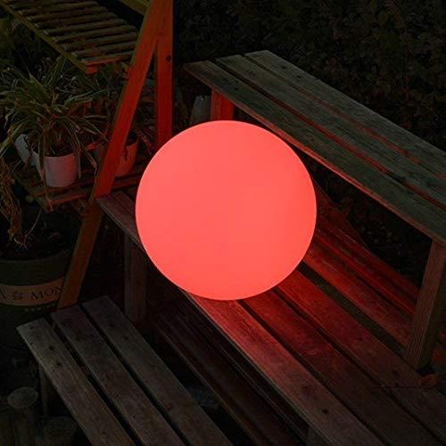 Portaghiaccio LED luminosa lampada a sfera all'aperto impermeabile ricaricabile palla luminosa palla da giardino lampada da giardino a pavimento lampada sferica scena luce lampada Raffredda bottiglie