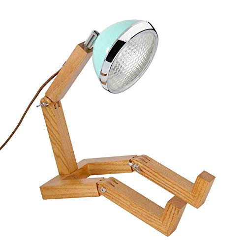 PIFFANY 440s Tisch-Leuchte Mr. Wattson G9 in Tiffany Green, LED Lampe | PI-G9-SWR-TG | 5708311200090