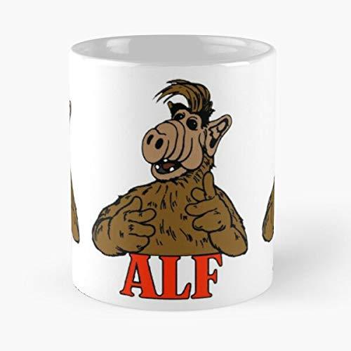Show Old Day The Puppet Alf Tv In Back Alien Best 11 oz Kaffeebecher - Nespresso Tassen Kaffee Motive