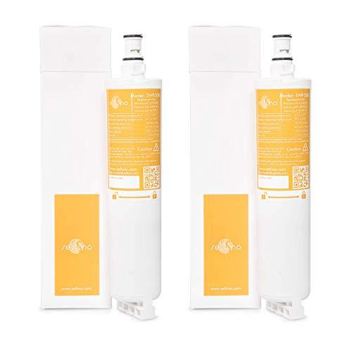 2x Seltino SWP-508 service - waterfilter voor Whirlpool, Ariston, Smeg, Bauknecht koelkast. Vervanging voor SBS002, 4396508