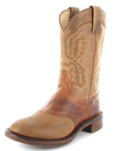Sendra Boots Damen Stiefel 5357 Tang Westernreitstiefel Braun 38 EU