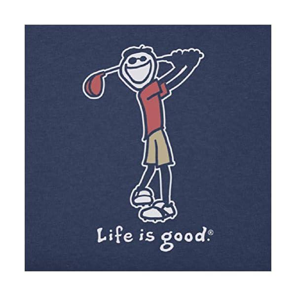 Life is Good Mens Mens Crusher Tee Vintage: Fun Jake
