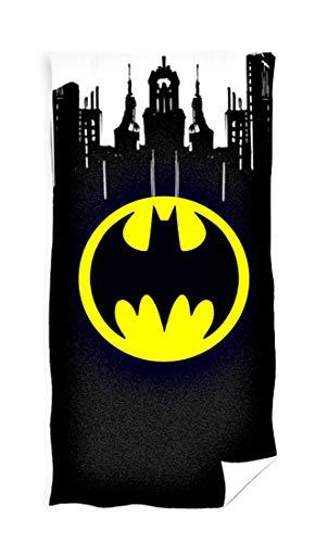 Carbotex Batman Gotham City Handtuch Duschtuch 70x140 Baumwolle