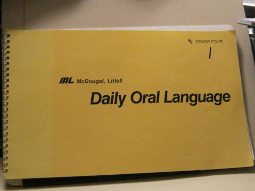 Download Daily Oral Language: Level 4 0812354575