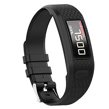 Watbro Bands Compatible with Garmin Vivofit 1/ Vivofit2 Soft Silicone Colorful Replacement Watch Band Strap Wristband for Vivofit 1/ Vivofit 2 Activity Tracker for Women Men Small Large