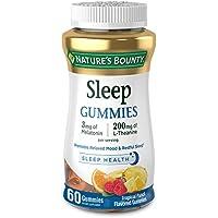 60-Count Nature's Bounty Melatonin Drug Free Sleep Aid Dietary Supplement