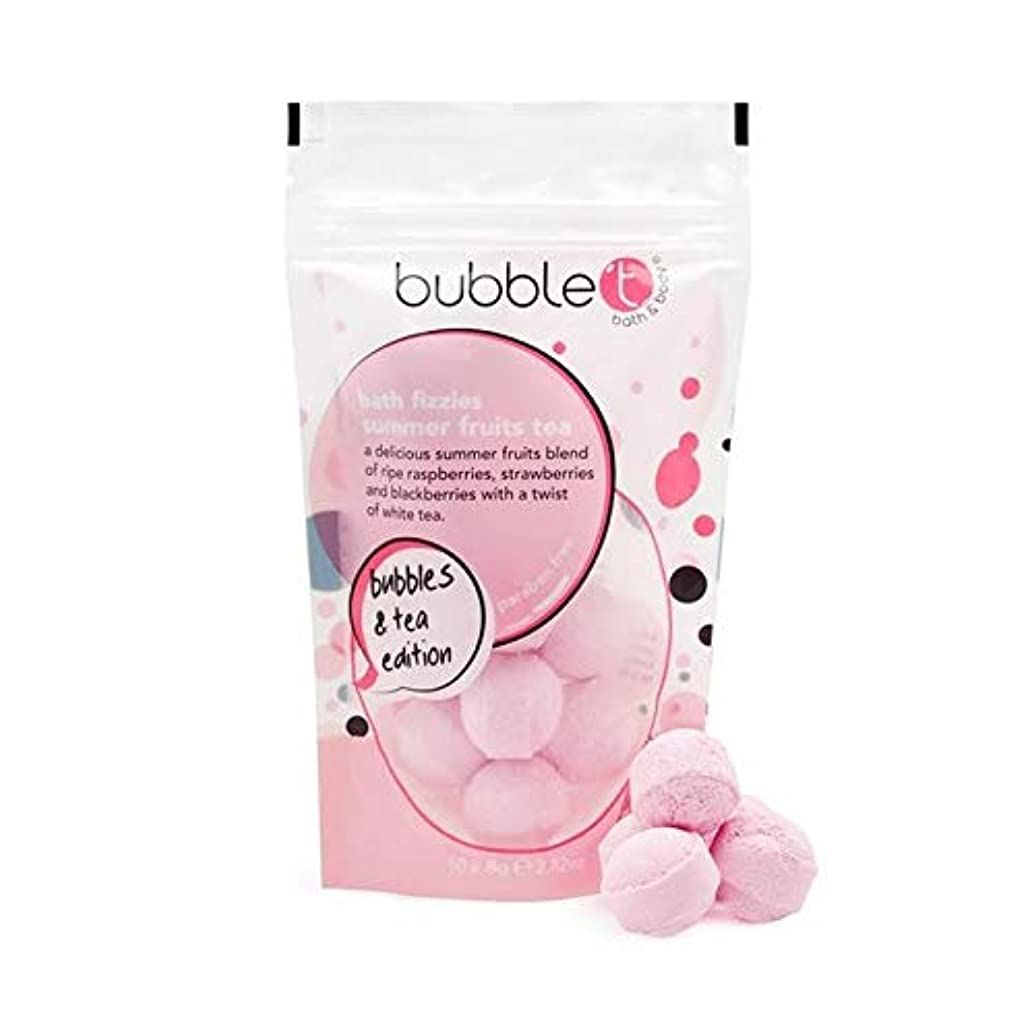 タオルハードリングピーク[Bubble T ] バブルトンの夏の果物風呂爆弾Fizzersの5グラム - Bubble T Summer Fruits Bath Bomb Fizzers 5g [並行輸入品]
