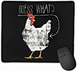 Ratet mal, was Cock Custom Gaming Mouse Pad, Persönlichkeit Designs Gaming Mousepad