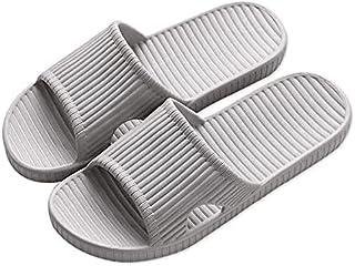 Anti-slip Bathroom Shower, Lightweight Slipper for Men and Women [ Grey 42/43 EU]