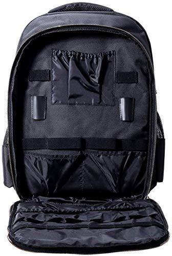 ポータブル毛バッグ美容師バックパック、メイクアップキット多機能旅行のバックパック、化粧品収納ボックス、防水収納袋