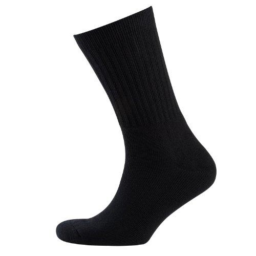 Nur Der Herren Sport 3er Socken, Blickdicht, Schwarz (schwarz 940), 39-42