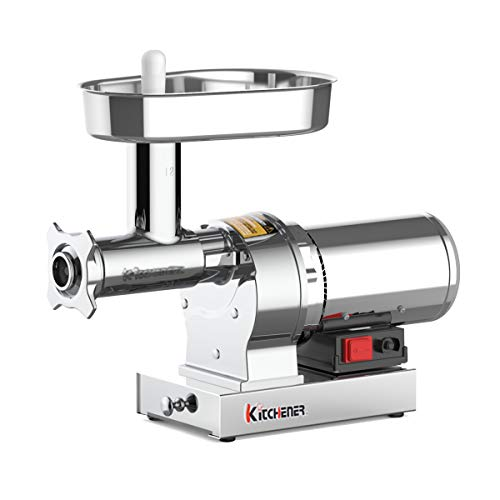 Kitchener Elite Electric Meat Grinder & Sausage Stuffer...