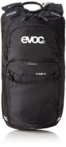 EVOC STAGE, Performance Rucksack, Schwarz, 44 x 23 x 6 cm, 8 Liter