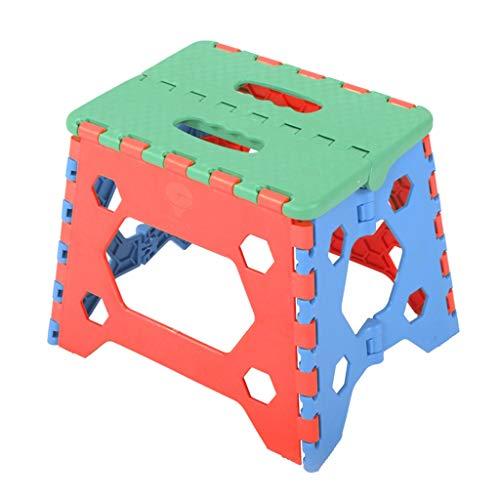 KKCD-Krukken Plastic Vouwkruk Draagbare Voetkruk Buiten Mini Krukje Kleine Stap Krukje Kinderstoel Verdikking Volwassen Krukken Thuis