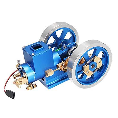 QuRRong Modelo de Motor Motor Full Metal Motor De Combustión Aleatorio Y Gas Modelo del Motor Regalo Toy Collection En Stock Stem Motor Stirling para el Experimento de física