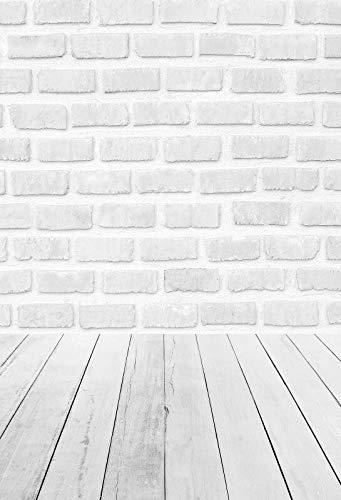 Fondo de Pared para fotografa, Piso de Pared de Cemento, Fiesta, ladrillo Gris, Retrato de nio, teln de Fondo para fotografa, Estudio fotogrfico A29, 7x5ft / 2,1x1,5 m