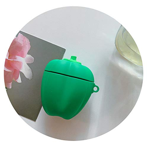 for AirPods Case Cute Lovely Cactus Prickly Pear Earphone Cases for Apple Air pods 2 Cover for Earpods Case Earbuds Ring Strap,362H