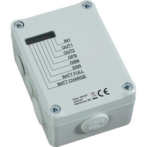 CONRAD COMPONENTS GSM FERNSCHALT-/ALARMMODUL GX107
