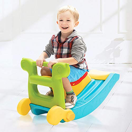 Product Image of the Uenjoy 2-in-1 Toddler Slide & Rocking Toy