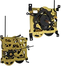 Regula 34 Cuckoo Wall Clock Mechanism Movement by QWIRLY - Replacement Part for Analog Clocks with Bird Rod, Chains, Stop Rings and Weight Hooks, 8-Day, Pendulum Length 19.5 cm / 7 3/4 inches
