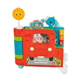 Fisher-Price Libro de historias Sienta y Levanta Juguete interactivo con luces y sonidos, regalo para bebés +6 meses (Mattel HCL17)